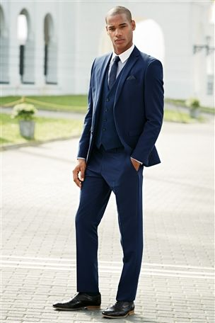 slim fit ushers suit