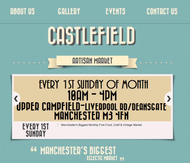 Castlefield Artisan Market