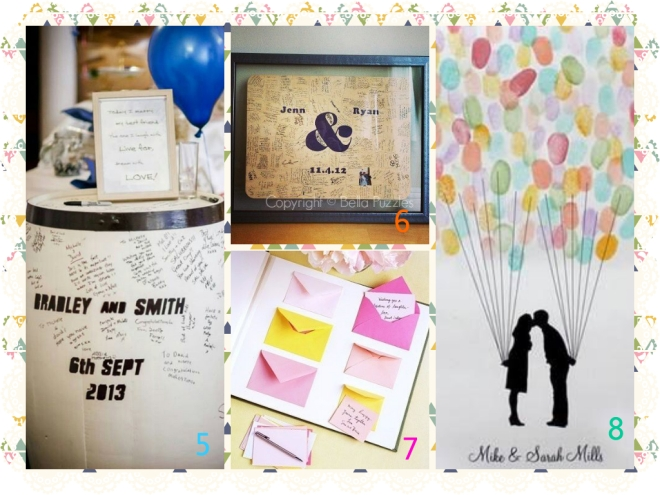guest book ideas 2