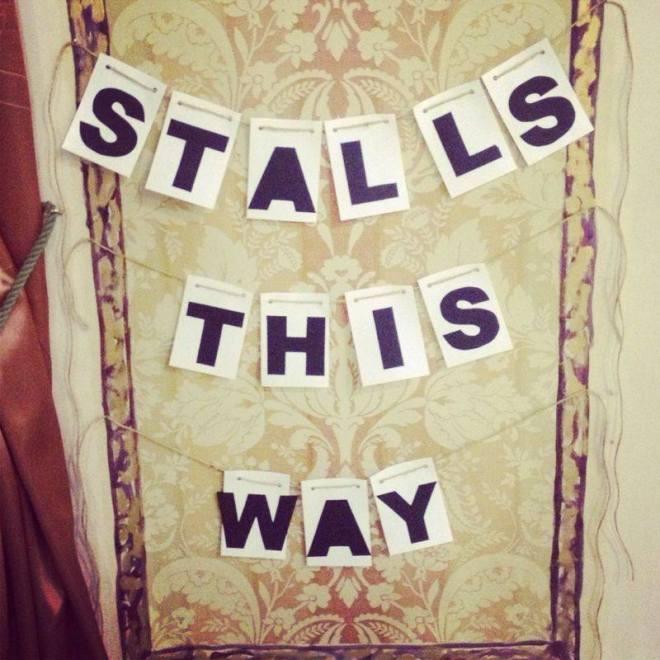 stalls this way